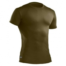 Футболка Under Armour HeatGear Tactical Compression Shirt (olive)