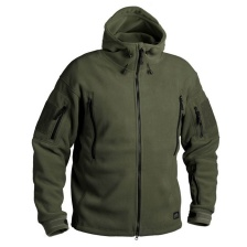Флисовая куртка Helikon Patriot (olive green)