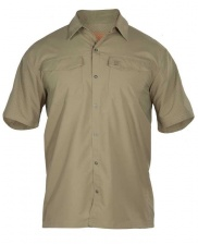 Рубашка 5.11 Freedom Flex Woven Short Sleeve Shirt (Underbrush)