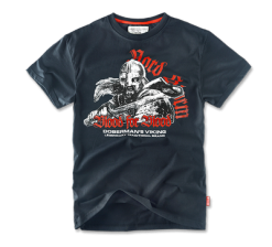 Футболка Dobermans Aggressive TS70 Blood for Blood (синяя)