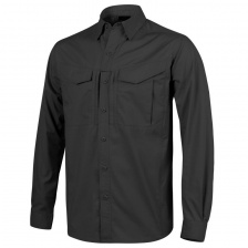 Рубашка Helikon Defender MK2 Shirt Long Sleeve (black)