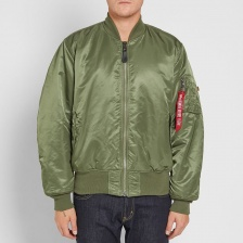 Куртка-бомбер Alpha Industries L-2B Flight Jacket Light Zone (Sage Green)