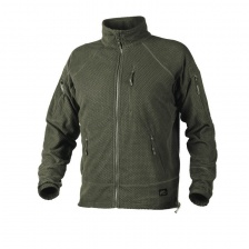 Куртка Helikon Alpha Tactical Grid Fleece Jacket (olive green)