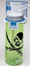 Бутылка Camelbak 0,75L Bottle - Pirate Skull (glass green)