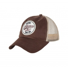 Бейсболка Helikon Trucker Logo Cap (Mud Brown)