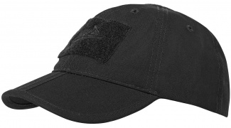 Бейсболка Helikon BBC Folding Cap (Black)