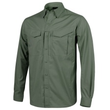Рубашка Helikon Defender MK2 Shirt Long Sleeve (olive green)