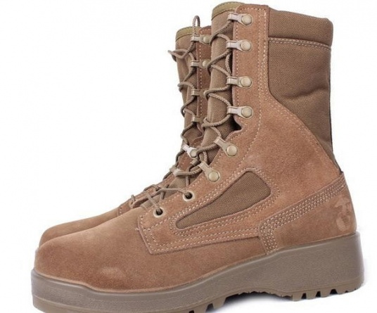 Ботинки летние Belleville 590 USMC Hot Weather Combat Boots (Desert Tan) фото 4