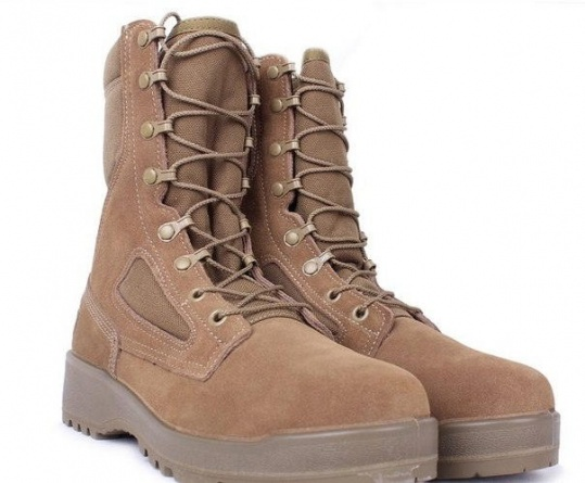 Ботинки летние Belleville 590 USMC Hot Weather Combat Boots (Desert Tan) фото 2